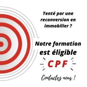 Devenir négociateur en immobilier grâce à votre CPF